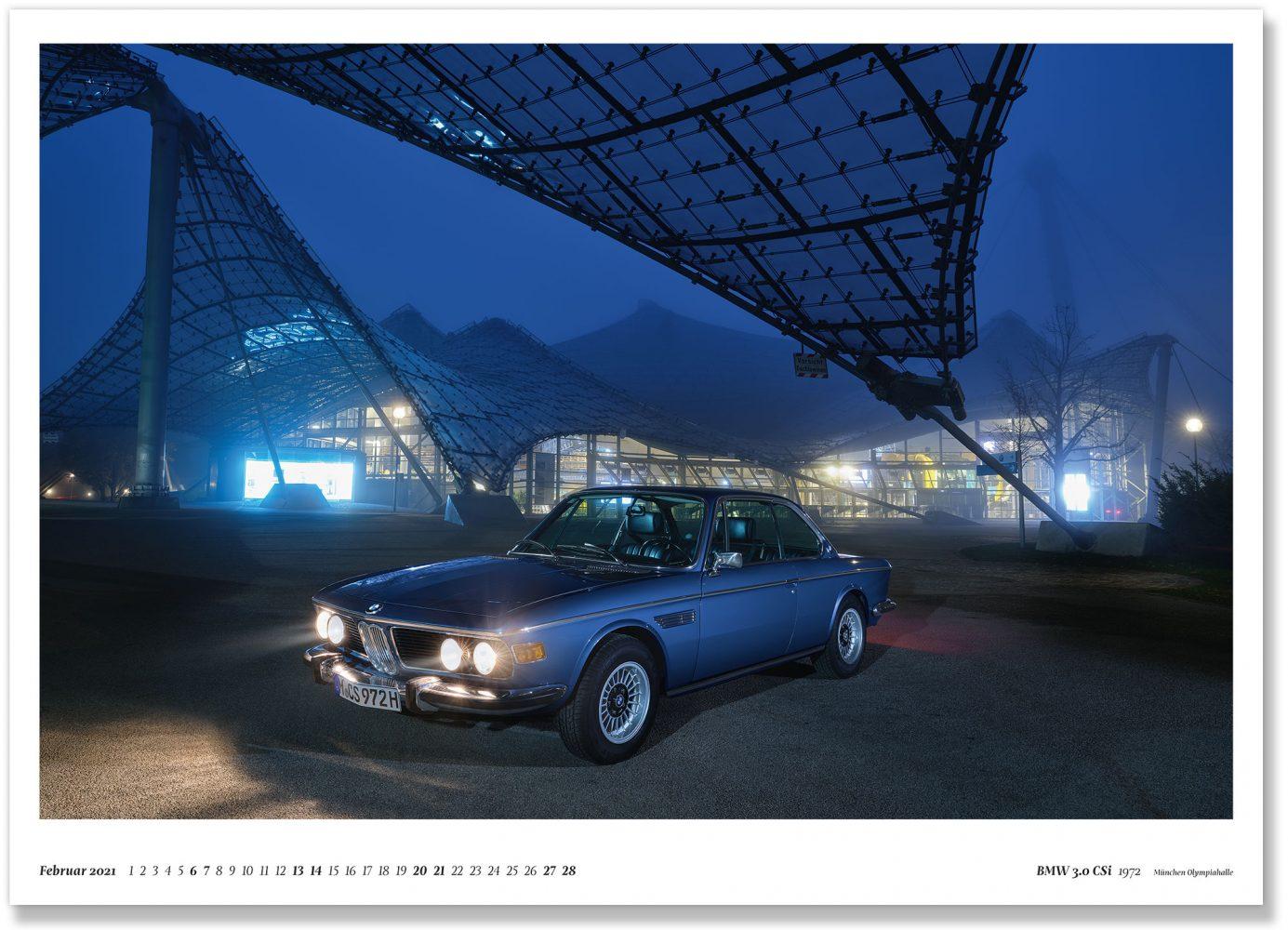 BMW 3.0 CSi 1972 München Olympiahalle