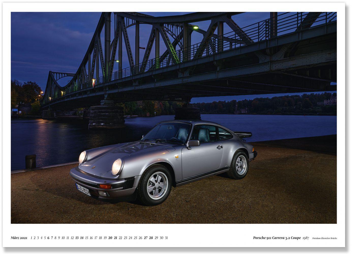 Porsche 911 Carrera 3.2 Coupe 1987 Potsdam Glienicker Brücke