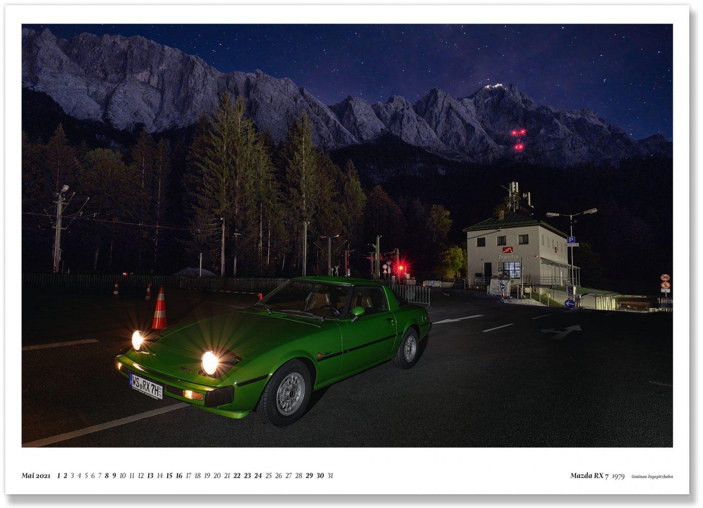 Mazda RX 7 1979 Grainau Zugspitzbahn