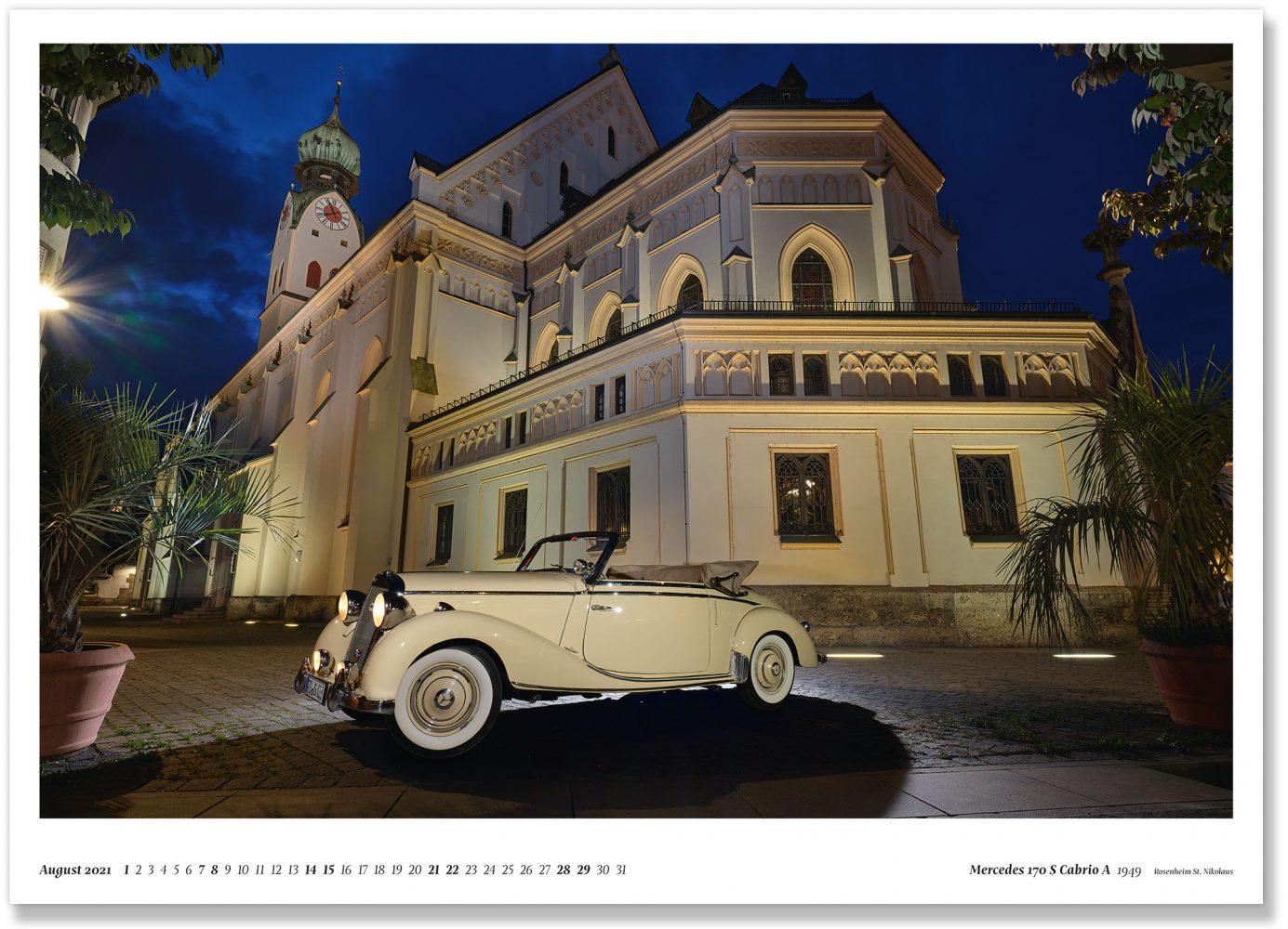 Mercedes 170 S Cabrio A 1949 Rosenheim St. Nikolaus